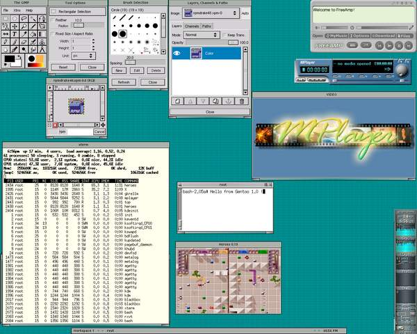gentoo linux 1.0
