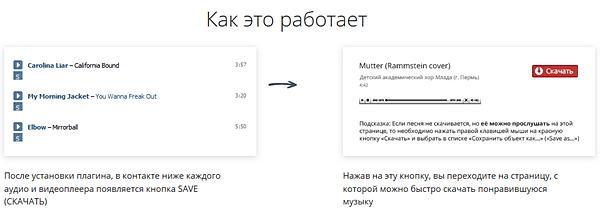 Как легко сохранить музыку из соцсети Вконтакте