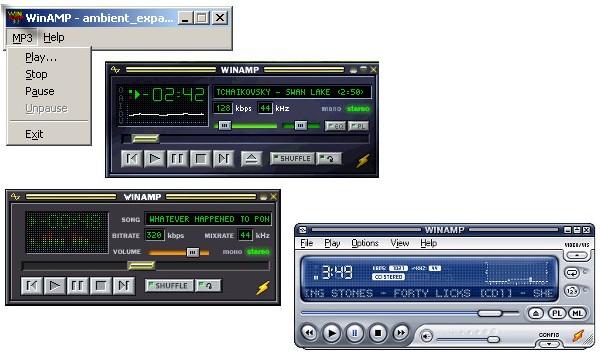 Версии Winamp: от первой до последней