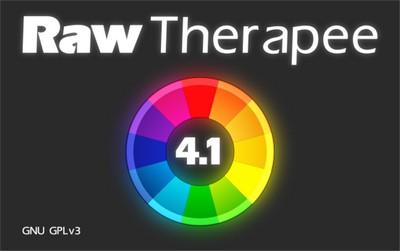 вышла новая версия rawtherapee 4.1