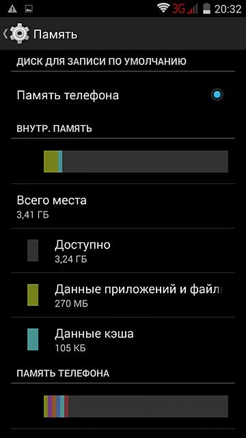 Скриншоты смартфона Highscreen Ice 2
