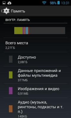 Скриншоты Highscreen Spark 2
