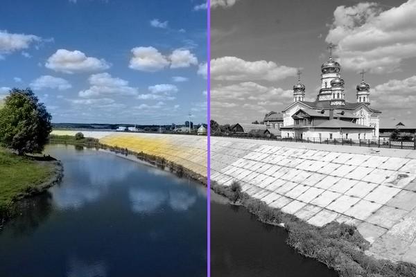 Как черно-белой фотографию превратить в цветную